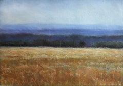Untitled Oil Pastel Landscape