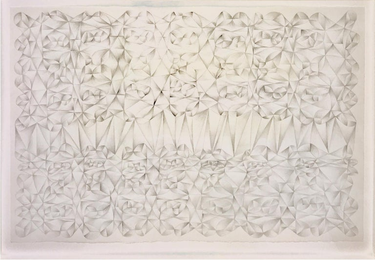 Kunihiko Maehara  Abstract Drawing - Glacier