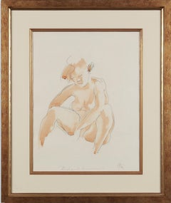 Seated Female Nude by Georg Kolbe, 1920's