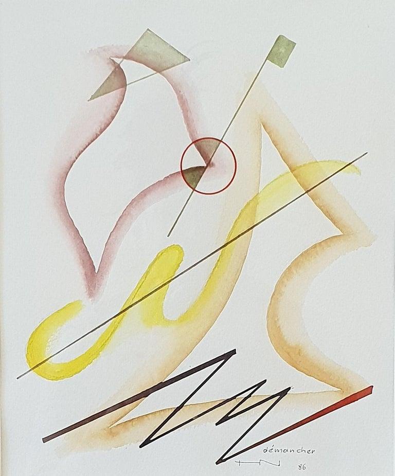 Heinrich Neuy Watercolor