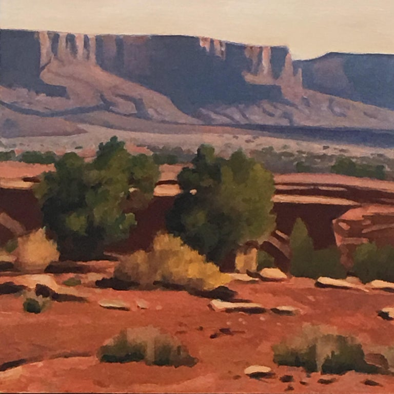 "Gary Ernest Smith Landscape Painting - ""Capitol Reef"""