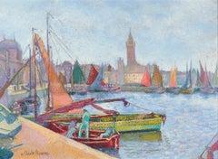 La Cale des Pêcheurs (Dunkerque) by H. Claude Pissarro