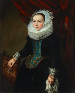 Dutch School Portrait of a Lady