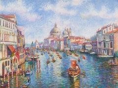 La Parade Nautique du 15 Août, à Venise (The Nautical Parade of August 15, in Ve
