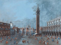 View of the Piazza San Marco
