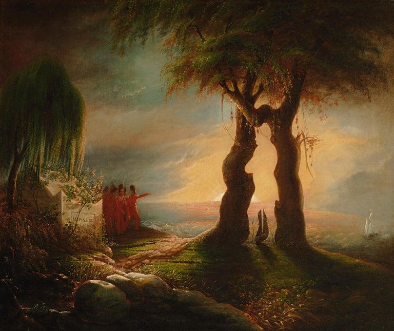 Thomas Rossiter Landscape Painting - Napoléon's Tomb