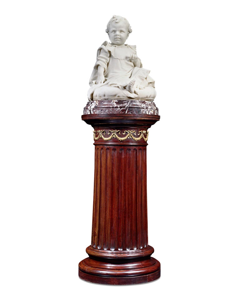 Giulio Monteverde Figurative Sculpture - Bambino