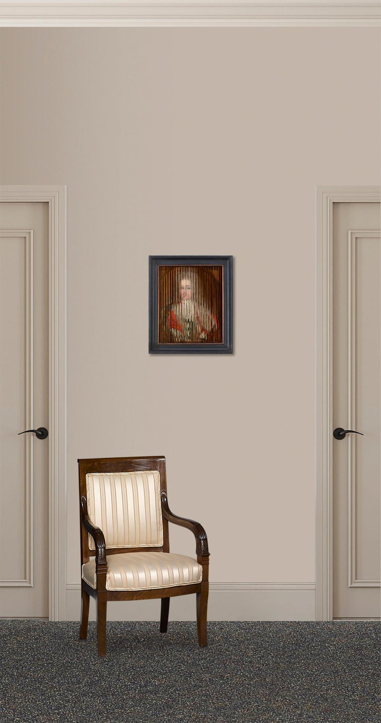 Double Portrait of King Frederik IV and Queen Louise of Mecklenburg-Güstrow of D For Sale 2