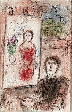 Le peintre et son chevalet (The Painter and His Easel)