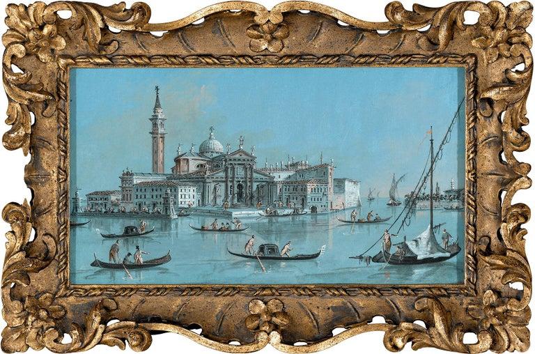 View of San Giorgio Maggiore - Art by Giacomo Guardi