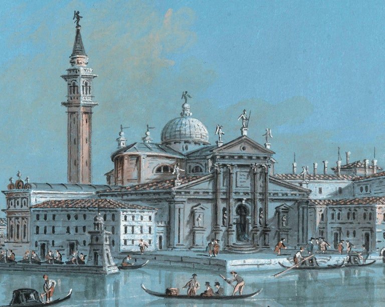 View of San Giorgio Maggiore - Other Art Style Art by Giacomo Guardi