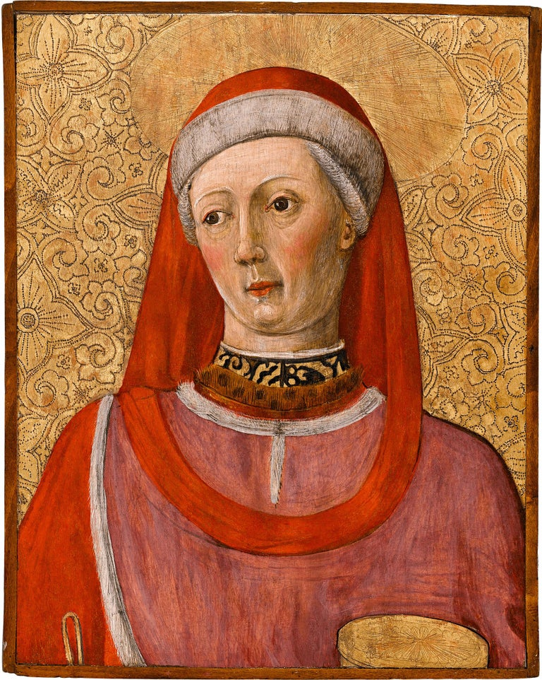 Saint Cosmas and Saint Damian  - Painting by Bonifacio Bembo