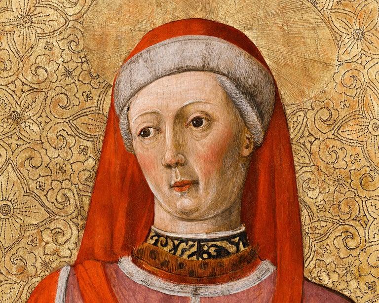 Saint Cosmas and Saint Damian  - Renaissance Painting by Bonifacio Bembo