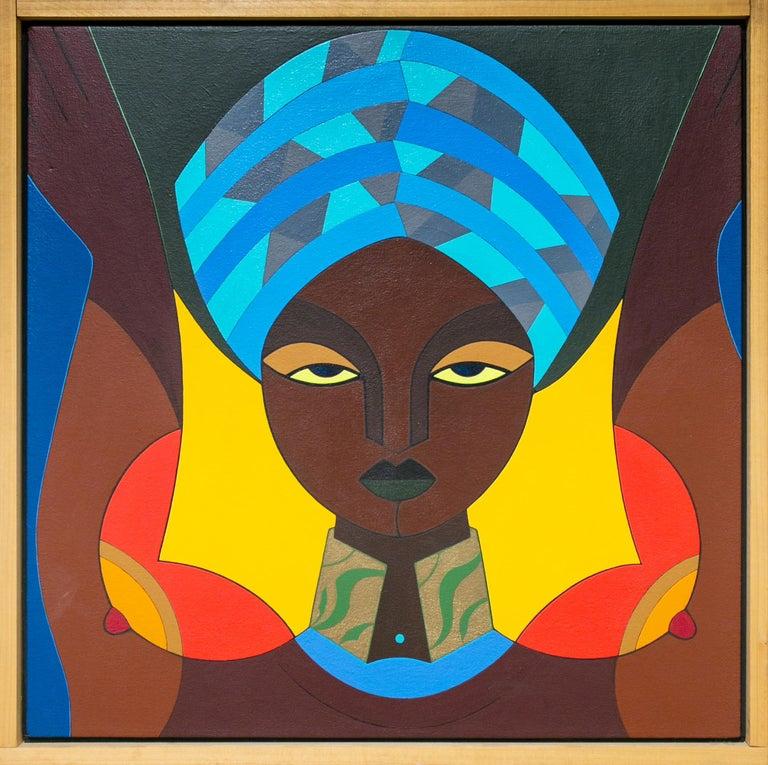 Claes Gabriel Portrait Painting - Femme au Turban