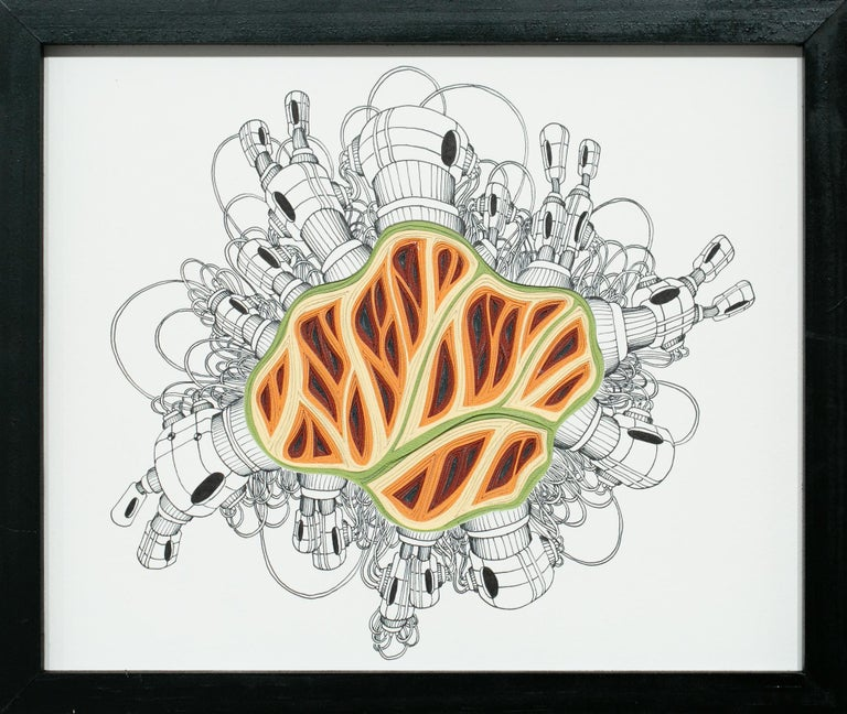 Charles Clary Abstract Drawing - Double Diddle Phlebotomy Movement #11