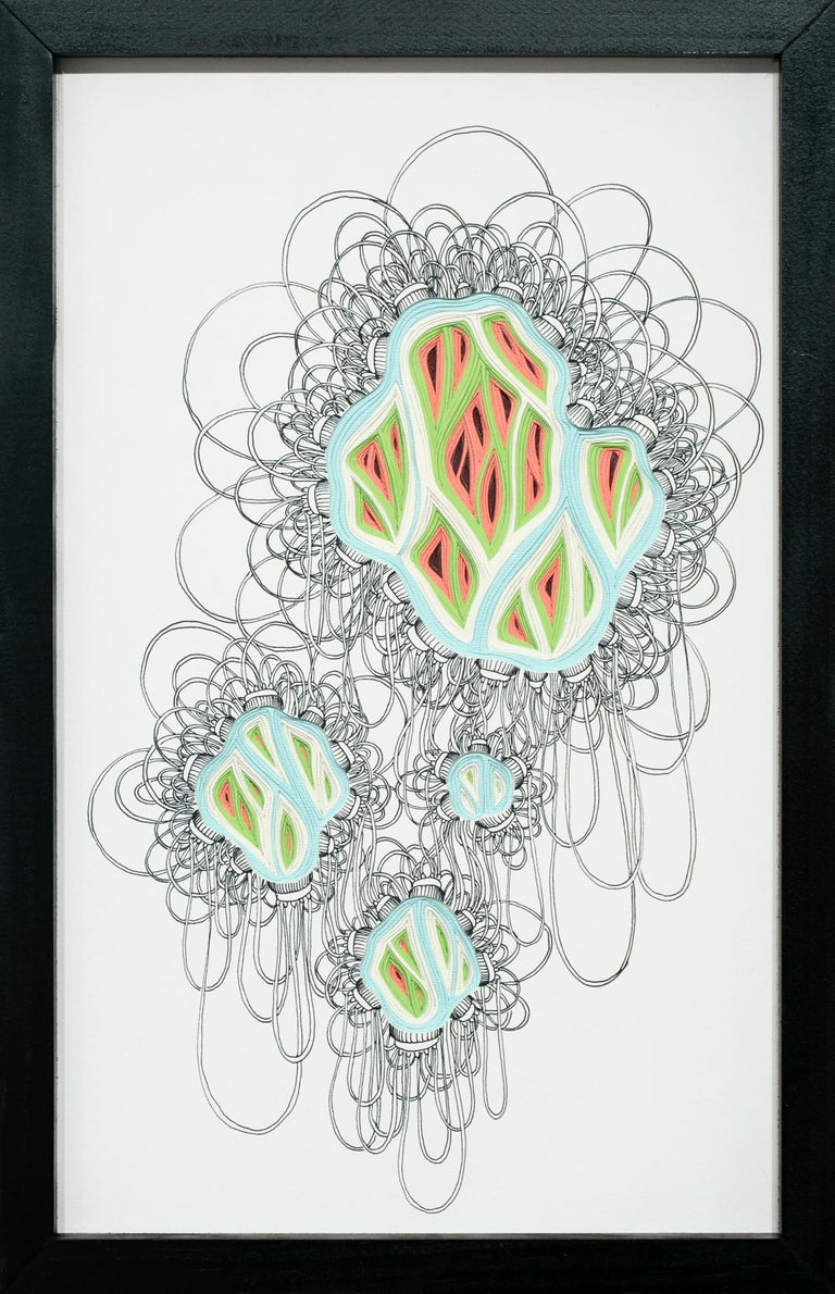 Charles Clary Abstract Drawing - Double Diddle Phlebotomy Movement #12