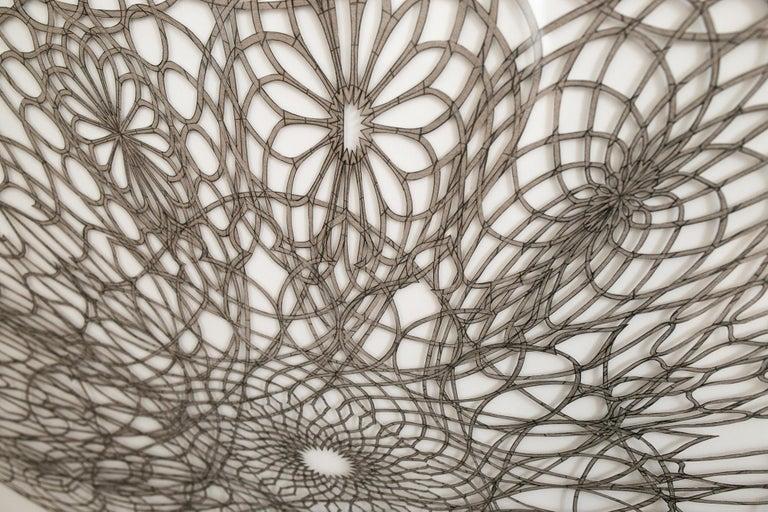 Undulating Flowering Ovum - Contemporary Sculpture by Hunter Stabler