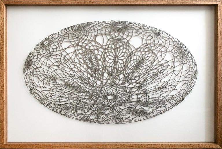 Hunter Stabler Figurative Art - Undulating Flowering Ovum
