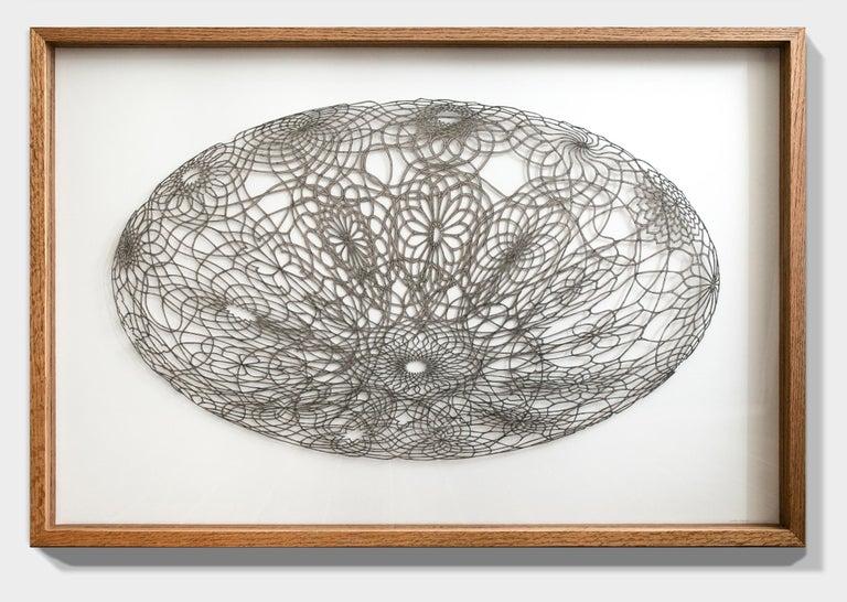 Undulating Flowering Ovum - Sculpture by Hunter Stabler