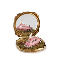 """""""Tantalize, Synchronize, Exercise!"""", Miniature compact and mirror landscape"""