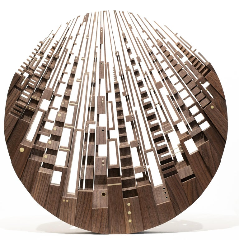 James McNabb Abstract Sculpture - Luna