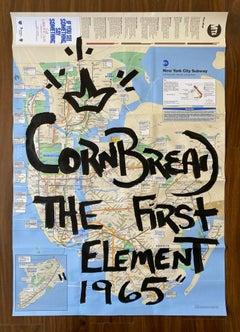 Cornbread the First Element 1965 Map
