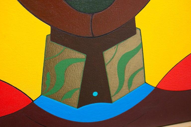 Femme au Turban - Contemporary Painting by Claes Gabriel