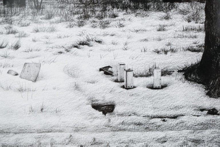 PAK - Gray Landscape Art by Stephanie Buer