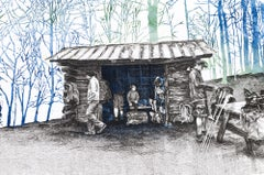 Roaring Fork Shelter, North Carolina, [ 35.805, -82.94978 ]