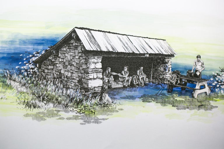 Mashipacong Shelter, New Jersey, [ 41.25216, -74.68594 ] - Contemporary Art by Sarah Kaizar