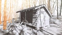 Knob Maul Shelter, Virginia, [ 37.0008, -8140446 ]