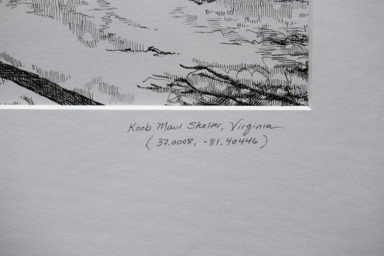 Knob Maul Shelter, Virginia, [ 37.0008, -8140446 ] For Sale 3