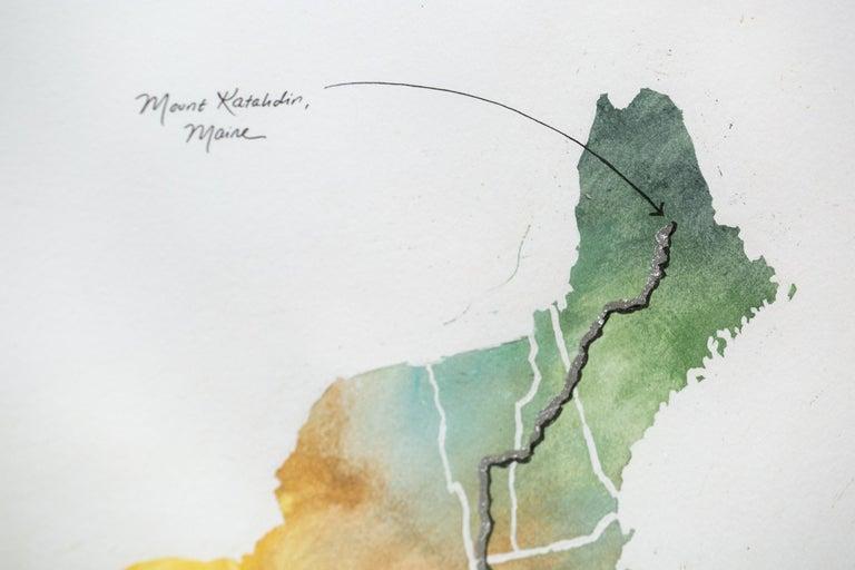 Appalachian Trail Map For Sale 1