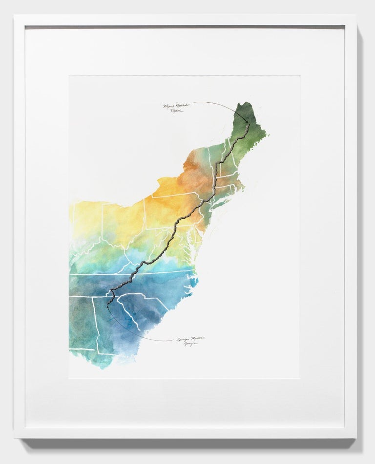 Appalachian Trail Map For Sale 2