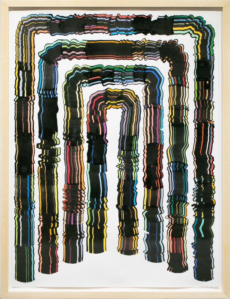 Jason Andrew Turner Abstract Painting - Arch 6