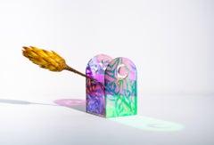 """Moon & Stars Vase"", Abstract Free-Standing Sculpture, Vase, Vessel"