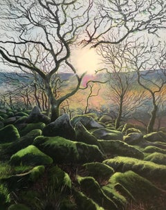Wistman's Wood.  Contemporary Landscape Painting