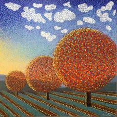 Autumn Dawn. Contemporary Landscape