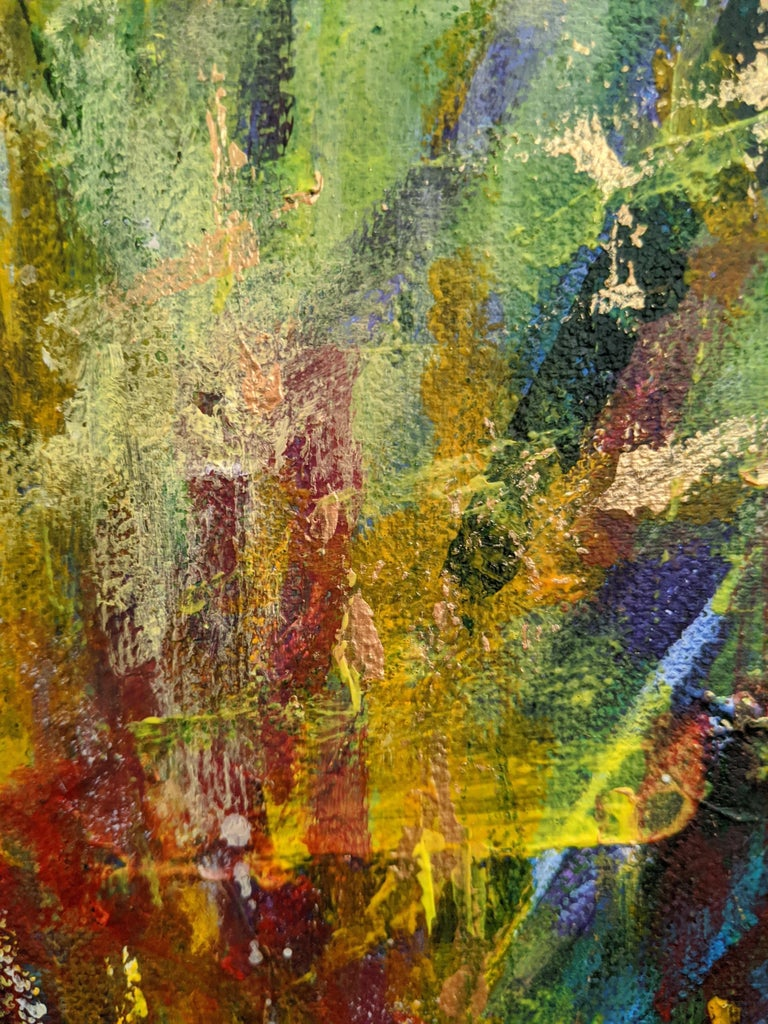 Flowers 5:  Contemporary Expressionist Painting For Sale 1