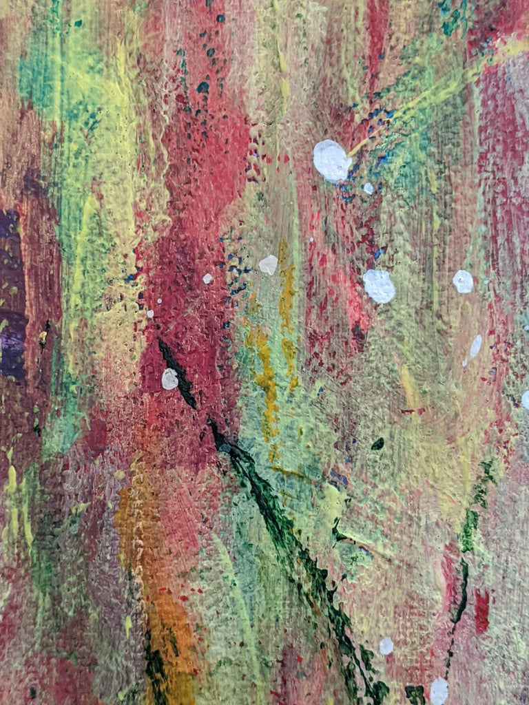 Flowers 5:  Contemporary Expressionist Painting For Sale 3