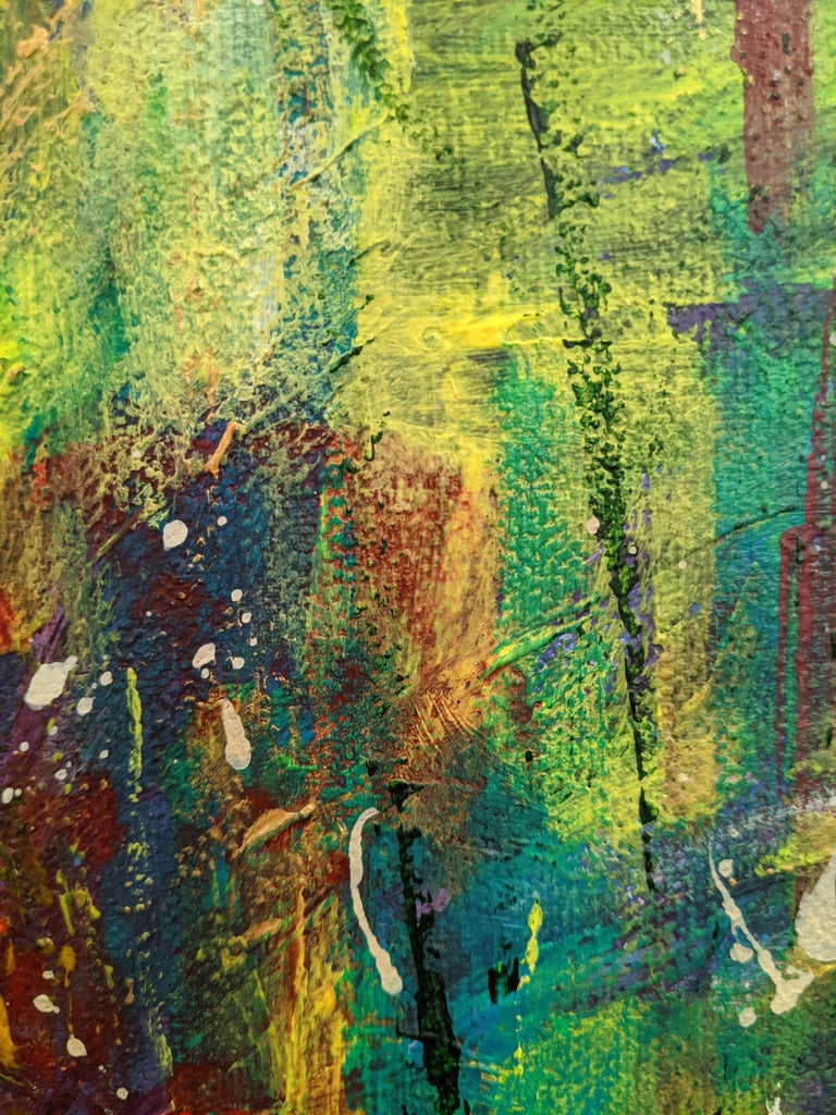 Flowers 5:  Contemporary Expressionist Painting For Sale 4