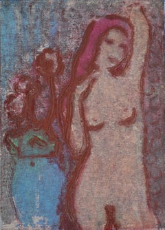 Lady In Red, Contemporary limited edition etching