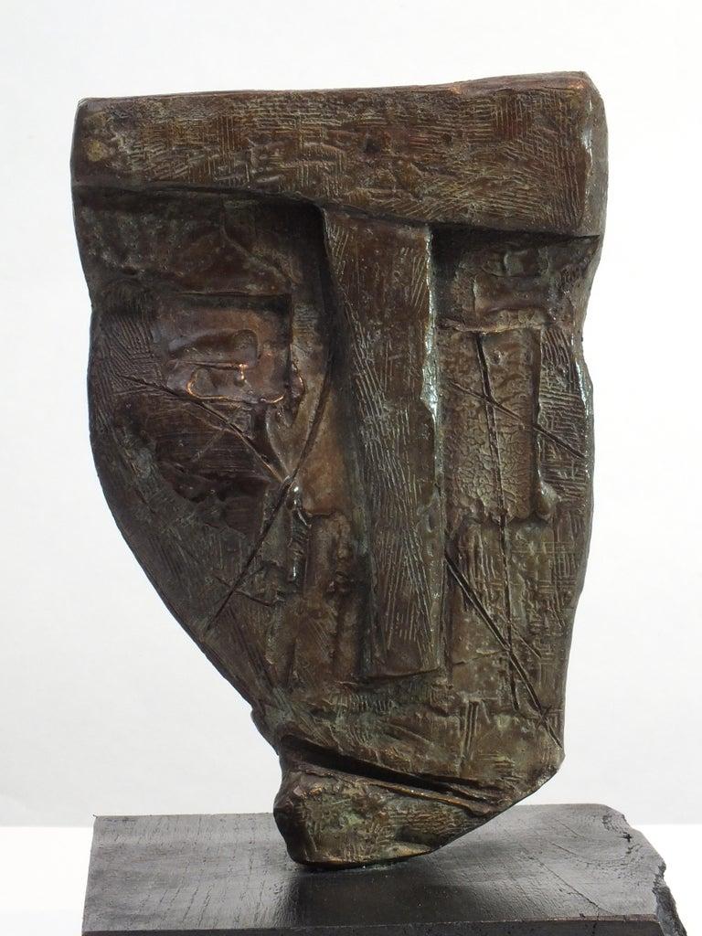 Tim Rawlins Nude Sculpture - Sentinel 1,  Contemporary Cast Bronze Sculpture