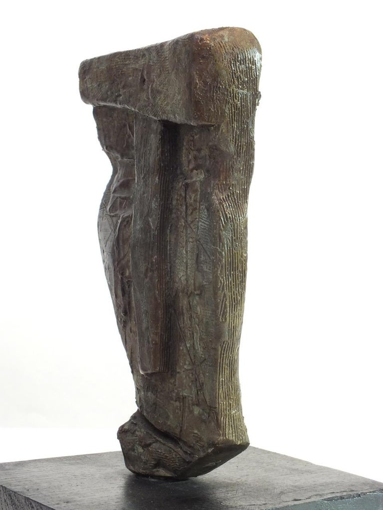 Sentinel 1,  Contemporary Cast Bronze Sculpture 4