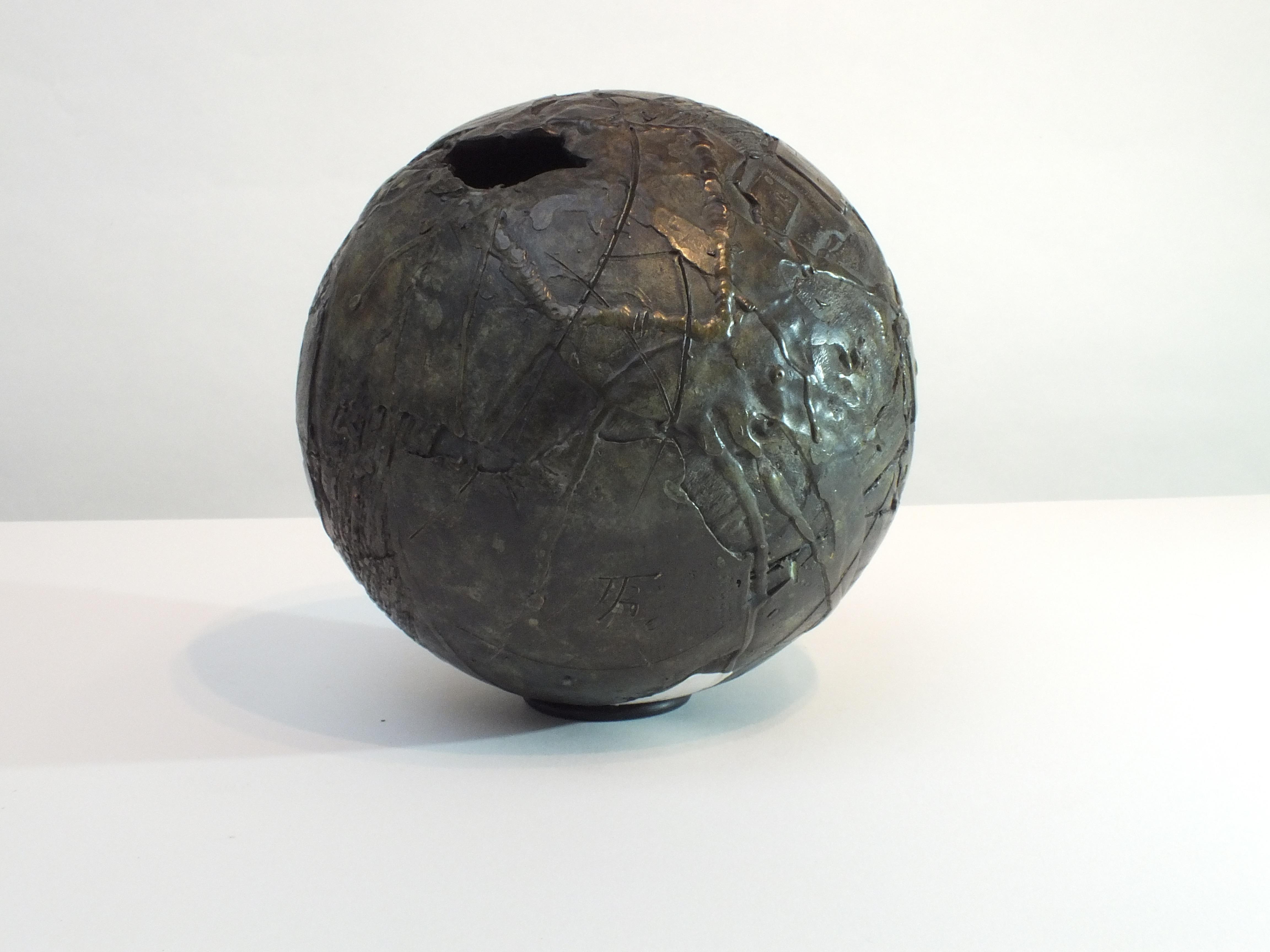 Globalisation 1:  Contemporary Cast Bronze Sculpture