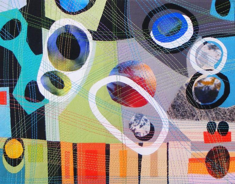 Urban Landscape, Contemporary Quilt For Sale 1