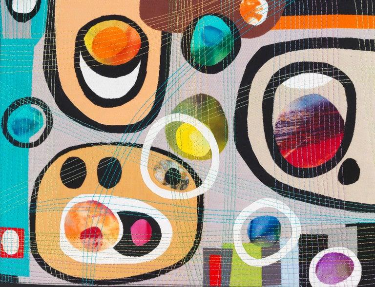 Urban Landscape, Contemporary Quilt For Sale 2