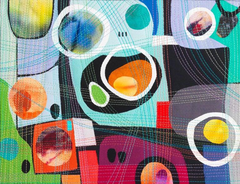 Urban Landscape, Contemporary Quilt For Sale 3