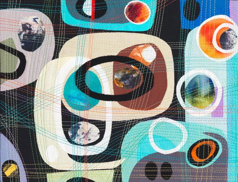 Urban Landscape, Contemporary Quilt For Sale 4