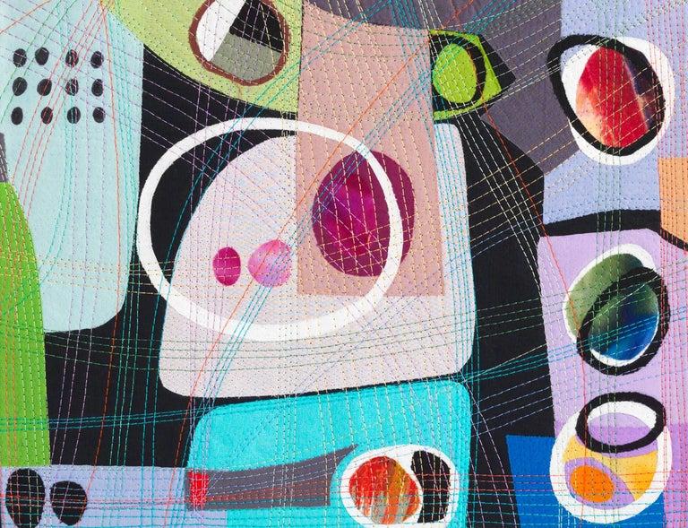 Urban Landscape, Contemporary Quilt For Sale 5